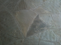 Blue Silver Mist Chopped Flagstone